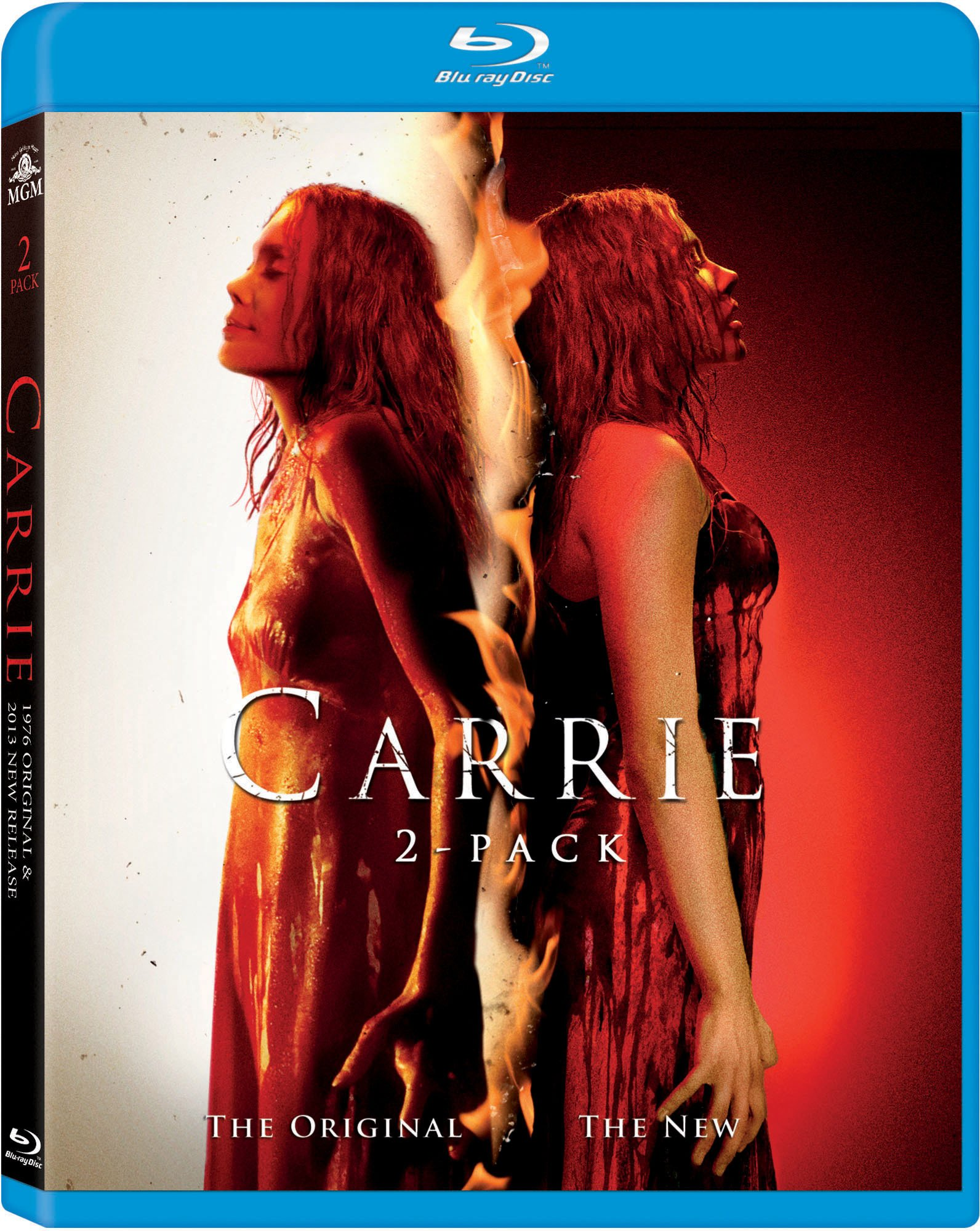 Blu-ray : Carrie (2 Pack, Pan & Scan)