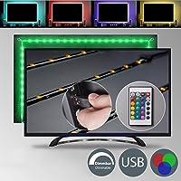 2m TV Tira LED USB con cubierta
