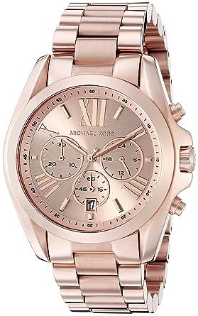 michael kors men s 43mm chronograph rose gold steel bracelet michael kors men s 43mm chronograph rose gold steel bracelet quartz watch mk5503