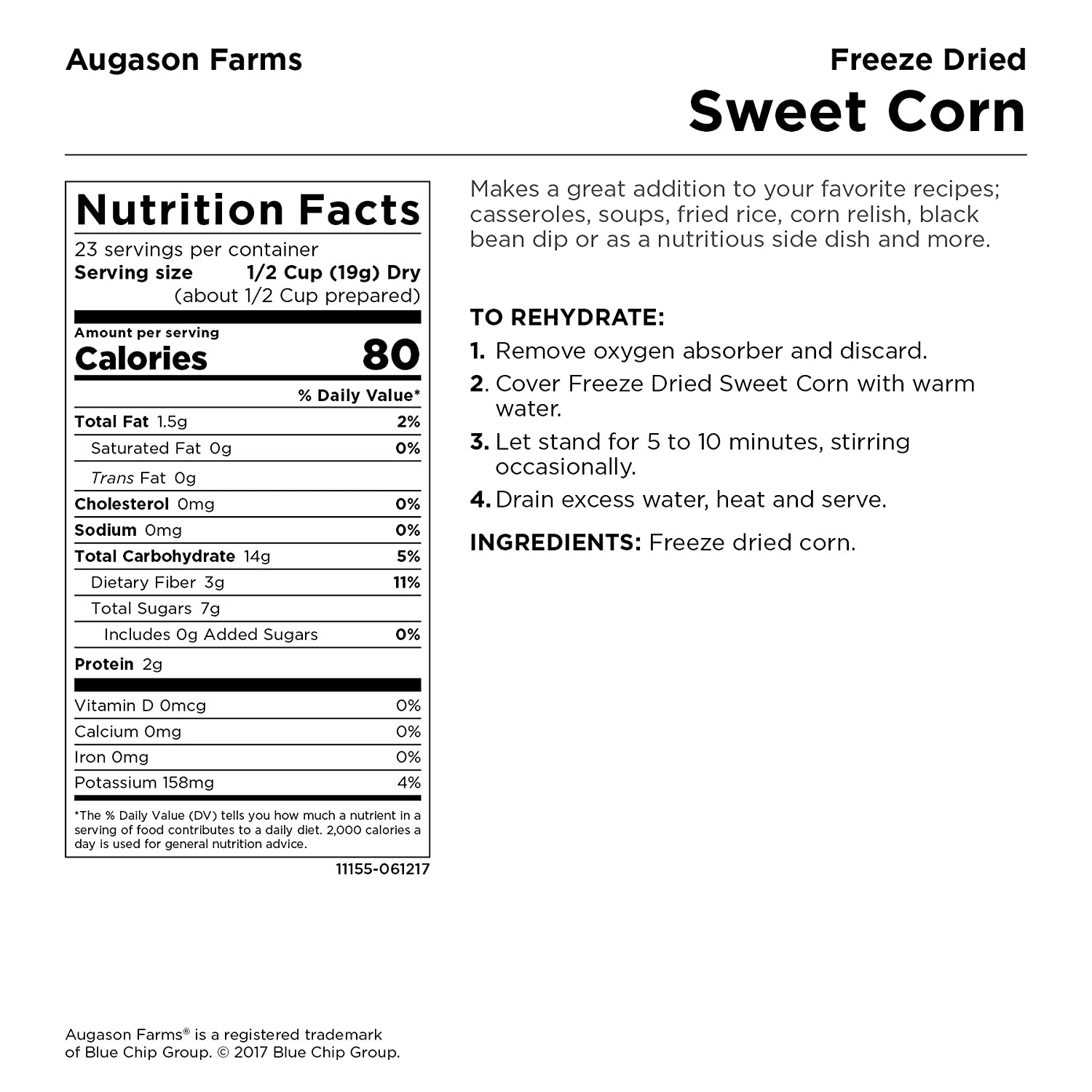 10 and 1 reason to issue a Corn card