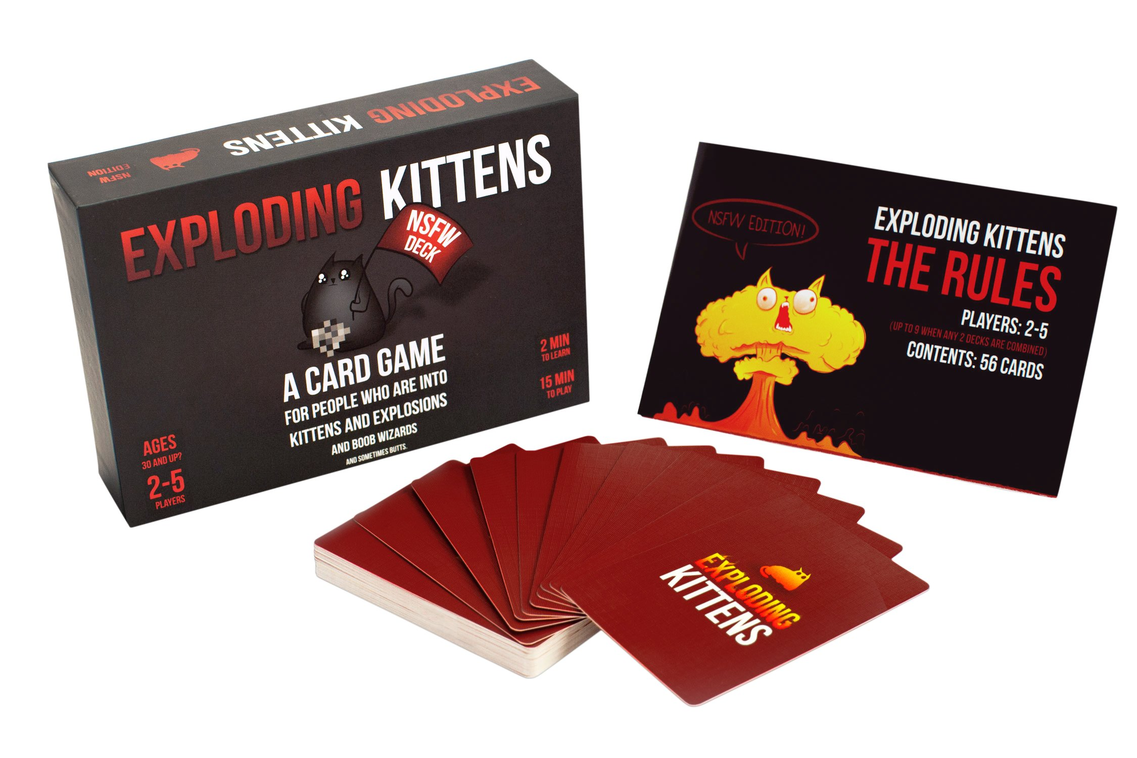 Exploding Kittens: NSFW Edition (Explicit Content - ADULTS ONLY!) by Exploding Kittens LLC (Image #2)