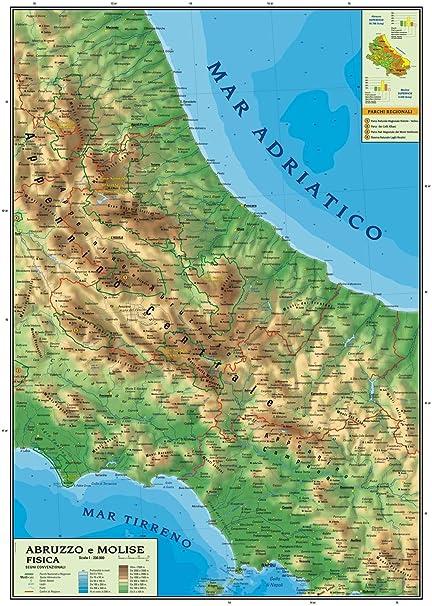 Cartina Puglia E Molise.Infantile Decodificare Ritardo Cartina Puglia Dettagliata Amazon Settimanaciclisticalombarda It
