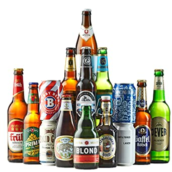 Beer Hawk World Lager Case -15 Beers - A Beer Gift Set for Any Beer ... 3e57aec6e