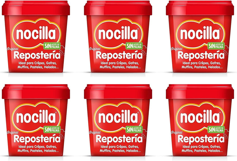 Crema de Cacao Avellanas Nocilla Especial Repostería 6x1000g (Caja ...