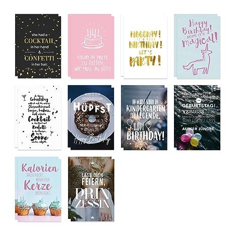 Visual Statements Postkartenset Mit 20 Postkarten Glücksbringer