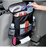 MFEIR® Insulated Auto Seat Back Organisers Bottle Drinks Holder Multi-Pockets Travel Storage Bag