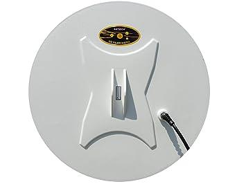 DETECH Bobina de diseño Cerrada DD de 18 pies para detectores de Metales de la Serie