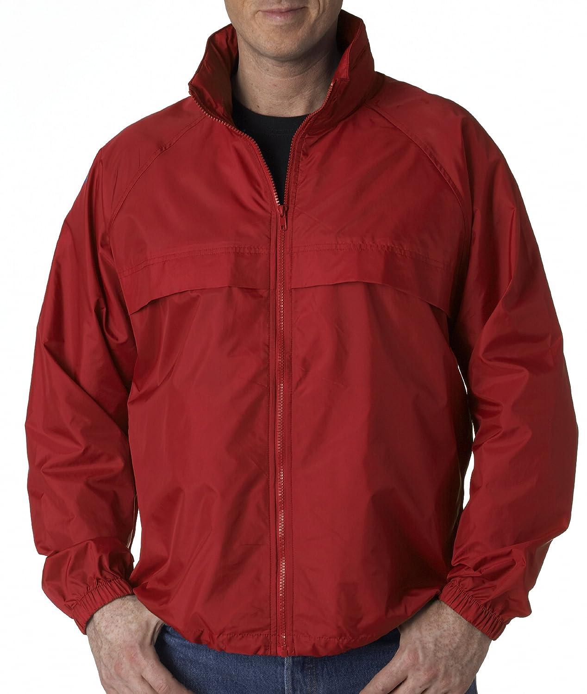 Ultraclub 8929 Zip Packaway Jacket