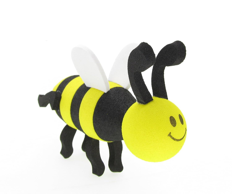 アンテナトップス車アンテナトッパー/アンテナボール/ミラーDangler B074JBHNBN Yellow Pretty Bees Yellow Pretty Bees