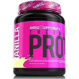 SHREDZ Protein (Thermogenic Made for Women - Vanilla, 1 Tub)Net Wt. 32 oz