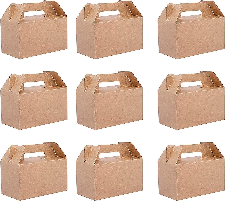 Belle Vous Cajas Regalo Papel Kraft (Pack de 24) - 16x9x9cm Caja de Presentacion con Tapa - Comida Paquete Caja para Magdalenas, Chocolates, Cumpleaños, Boda, Favores de Fiesta, Baby Shower: Amazon.es: Amazon.es