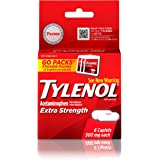 Tylenol Extra Strength Caplets, Fever Reducer and Pain Reliever, 500 mg, 6 ct.