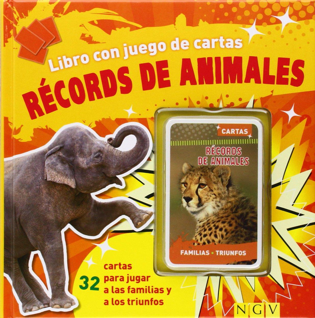 Récords De Animales. Libro Con Cartas Libros con juego de ...