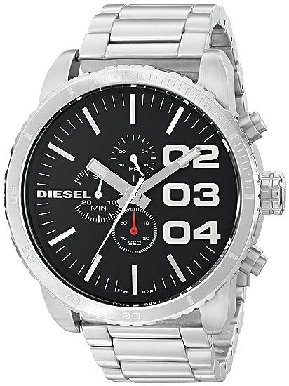 a54555e80731 Diesel Reloj Diesel DZ4209 Reloj para Hombre Plata Talla unitalla ...
