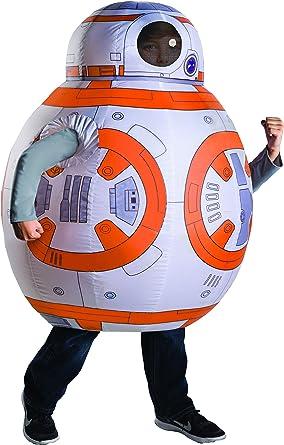 Amazon.com: Hinchable BB-8 disfraz – Un solo tamaño: Clothing
