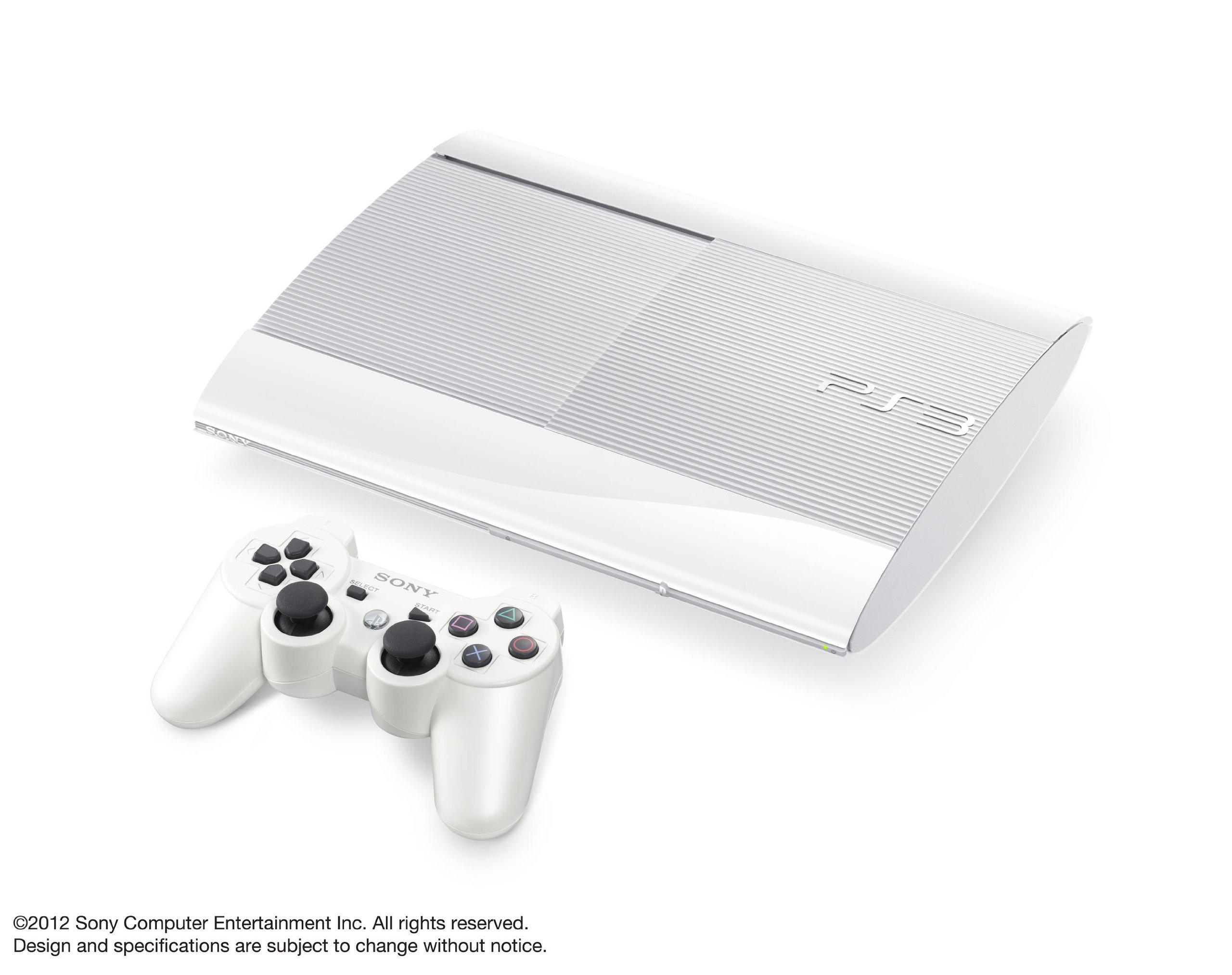 SONY PlayStation3 PS3 Console 250GB | JAPAN MODEL |CECH-4000B LW Classic White (Japan Import)