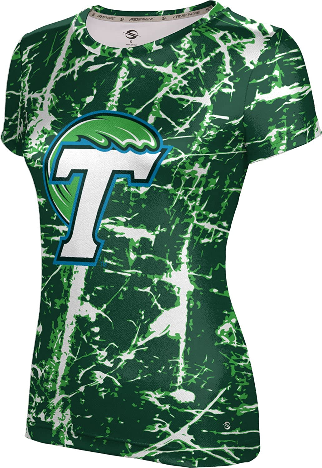 Distressed ProSphere Tulane University Girls Performance T-Shirt