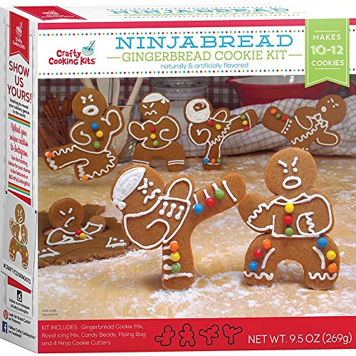 W Mix Ninjabread Cookie Kit