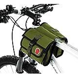 ArcEnCiel Water-Resistant Military Style Bicycle Bag