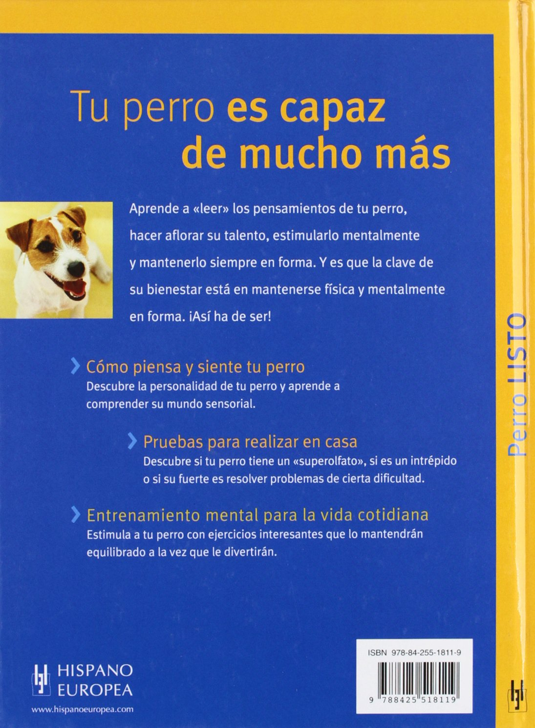 Perro listo (Spanish Edition): Immanuel Birmelin: 9788425518119: Amazon.com: Books