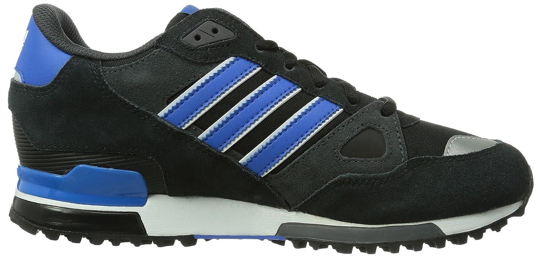 adidas Originals ZX 750 M18260 Unisex - Erwachsene Laufschuhe, Schwarz (Black 1/Bluebird/Running White Ftw), 40 2/3