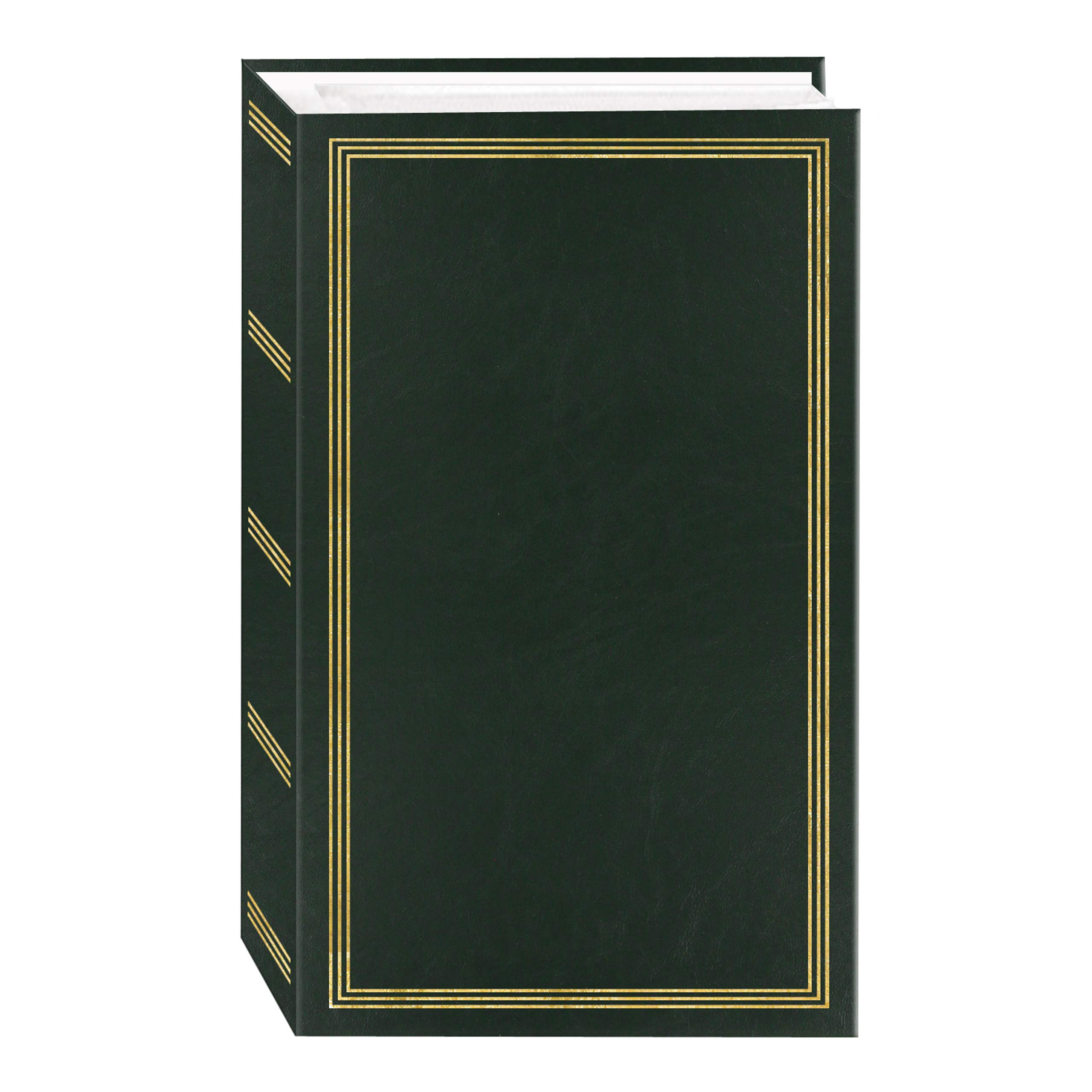 3-Ring Photo Album 504 Pockets Hold 4x6 Photos, Hunter Green by Pioneer Photo Albums
