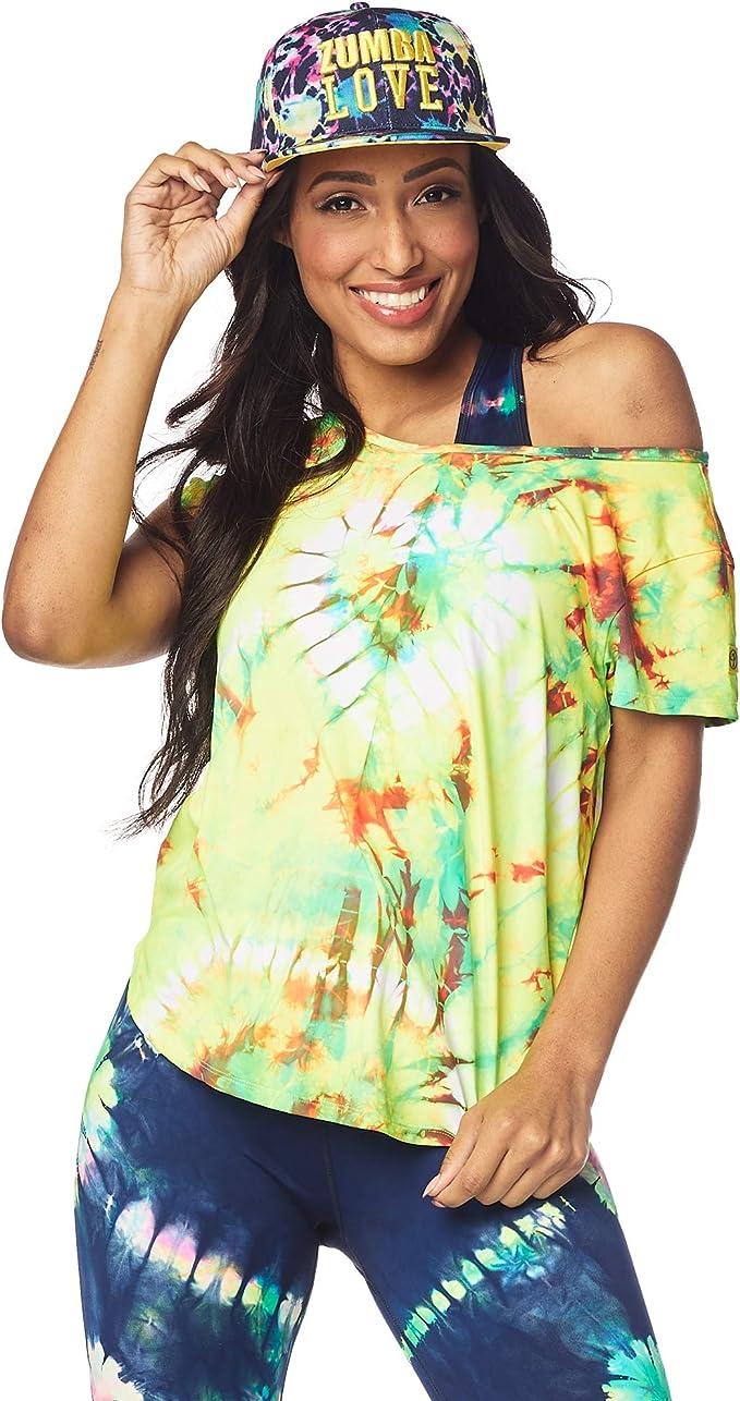 Zumba Maglietta di Design Stampa di Moda per Donna