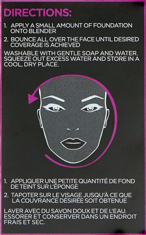 L'Oreal Paris Makeup Infallible Blend Artist Makeup Blender Sponge, 0.8 oz : Beauty
