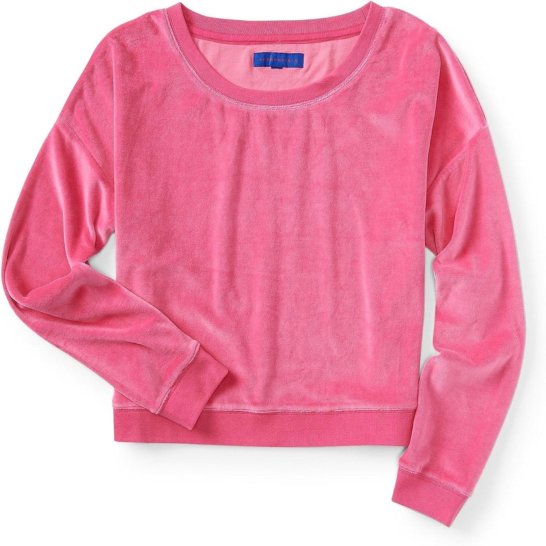 Aeropostale Womens Velour Sweatshirt