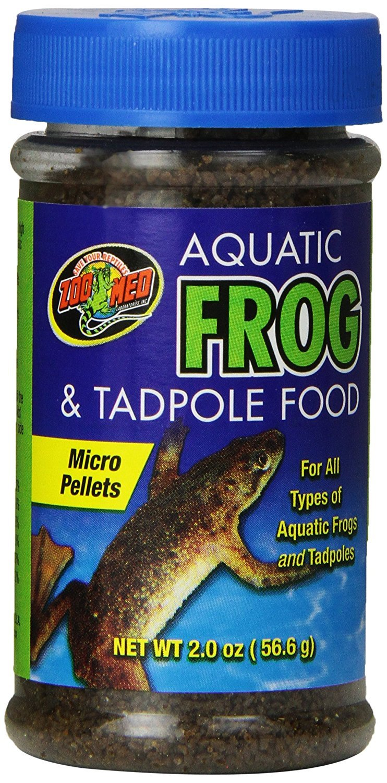 Zoo Med Aquatic Frog and Tadpole Food, 2-Ounce ZM16