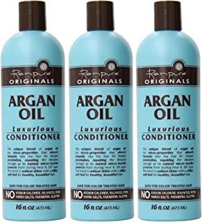 product image for Renpure Originals Haircare - Argan Oil Luxurious Conditioner - Color Safe Formula - Net Wt. 16 FL OZ (473 mL) Per Bottle - Pack of 3
