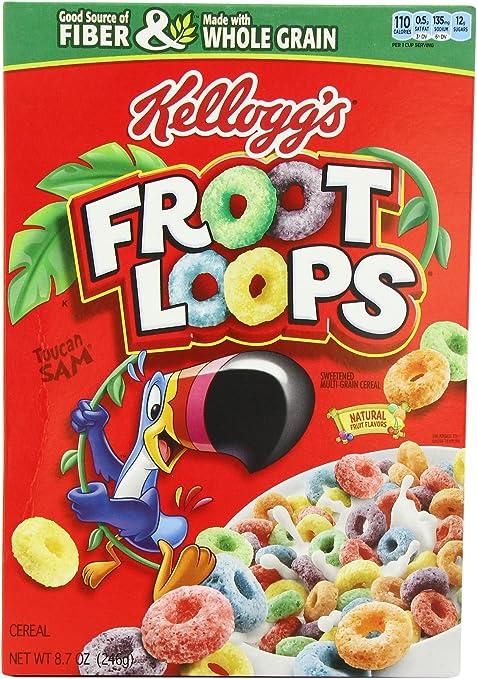 Froot Loops 246 g (Pack of 2): Amazon.es: Alimentación y bebidas