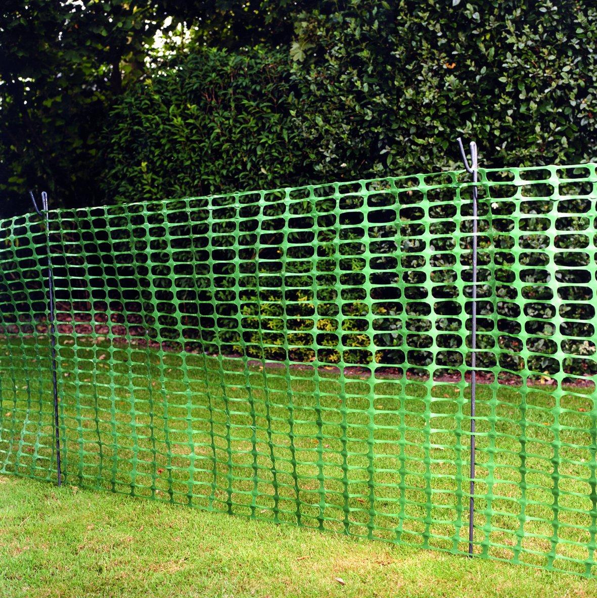 Grün Barriere Mesh 1 m x 50 m Zaun temporäre Netz Fechten – Ideal