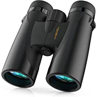 $65 » Binoculars for Adults and Kids, Vabogu 12x42 BAK4 Prism FMC Lens Low Light Night Vision…