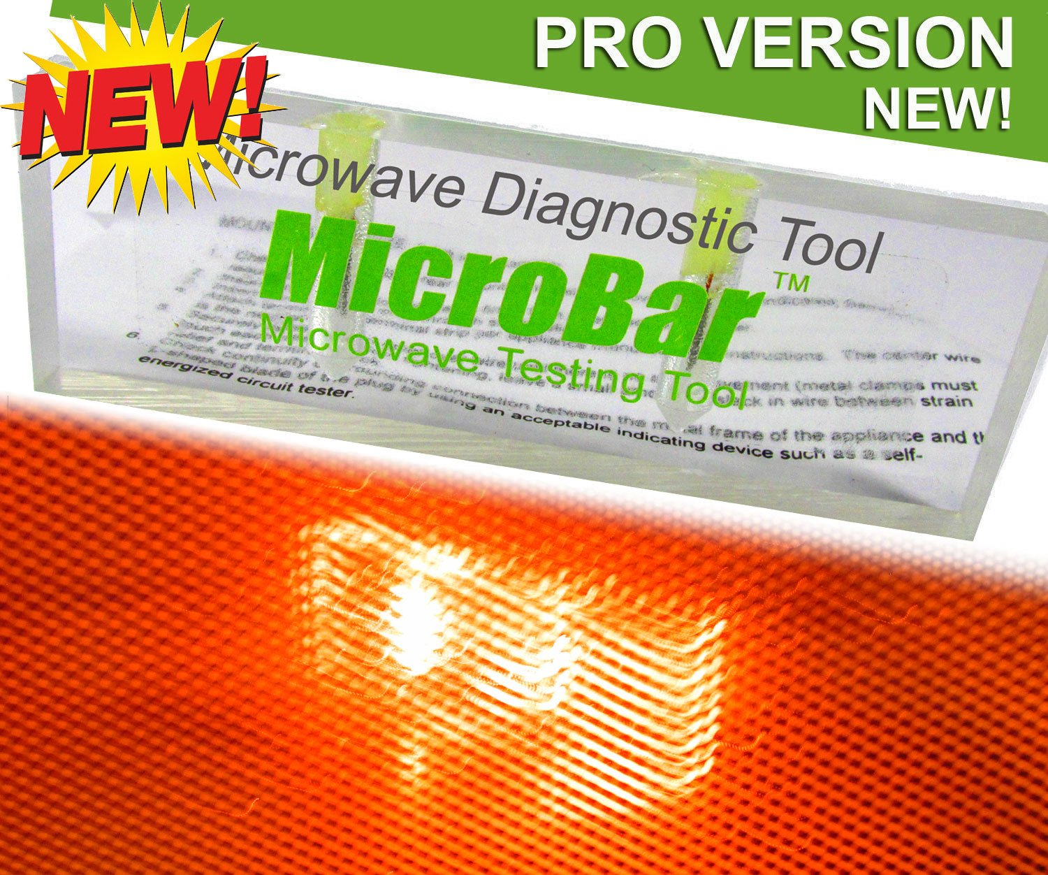 MICROBAR 2018 4750 Home Inspector Inspection Pro Microwave Tester Diagnostic Tool