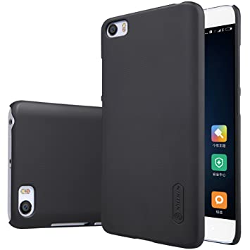 Nillkin Funda Xiaomi 5 /Mi5/M5, [Anti-Slip] Frosted Super Slim Matte Hard Cover Case Carcasa de Piel para Xiaomi 5, Protectores de Pantalla Juntos - ...