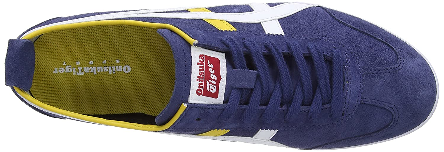 new arrival 318ce 41651 Onitsuka Tiger Unisex-Adult Mexico 66 Vulc Navy/White Low ...