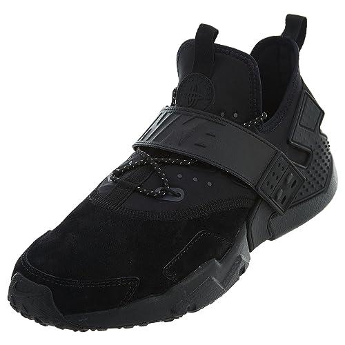 c5e3c7fc49400 Nike Men s Air Huarache Drift PRM Running Shoes (Black Anthracite-WHI 001)