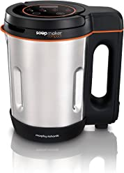 Morphy Richards Compact Soup Maker 501021 Stainless Steel 1 Litre, 900 W
