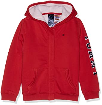 Tommy Hilfiger Adaptive Womens Hoodie Sweatshirt with