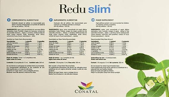 Redu Slim Complemento Alimenticio - 20 Ampollas: Amazon.es: Salud y cuidado personal
