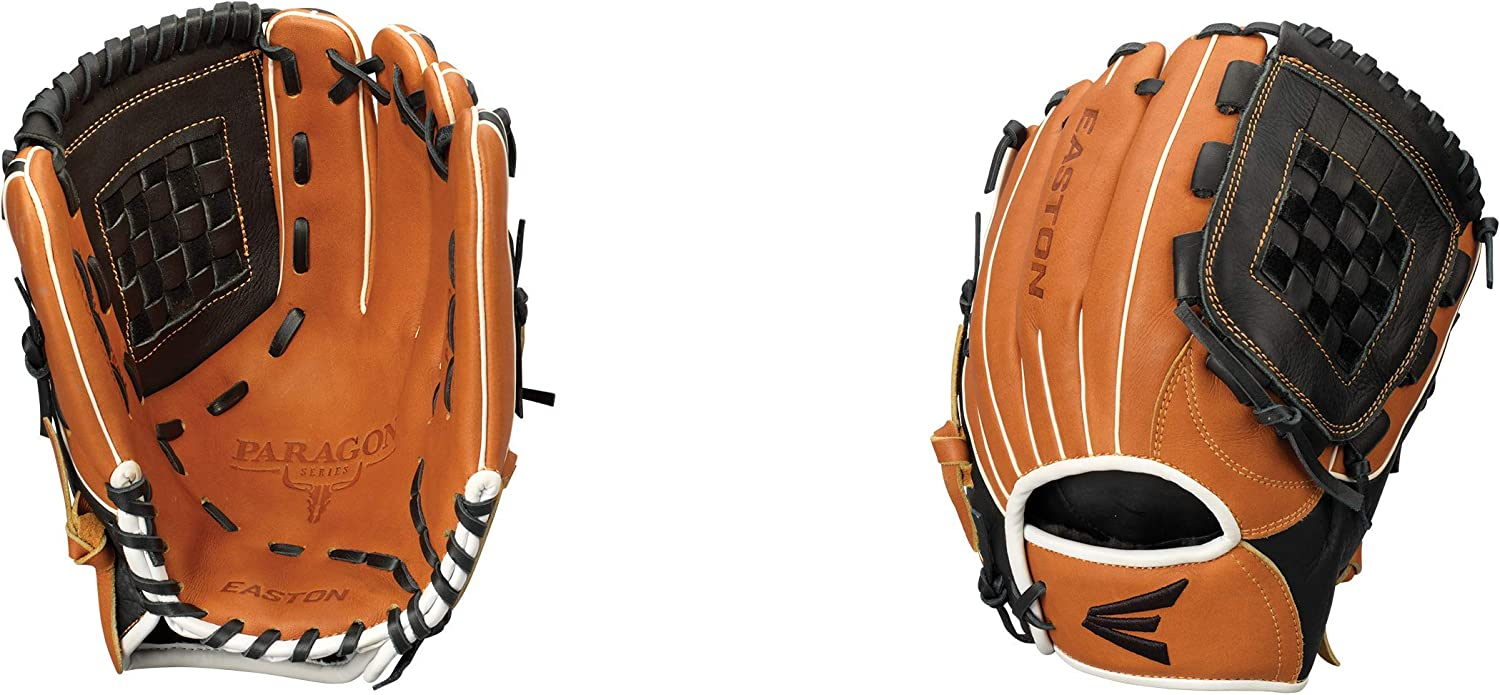 Palm Rawhide Laces EASTON Paragon Youth Baseball Glove Series Super Soft Palm Lining Enhances Grip for Better Control Select Cowhide Leather 2020 Youth Sizes /& Patterns