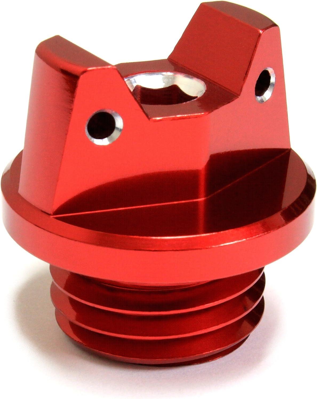 Accessories CNC Billet Engine Oil Filler Plug for CR125R 250R CRF150R CRF250R CRF450R CRF450X CRM250R CRM250AR CRF250L CRF250M