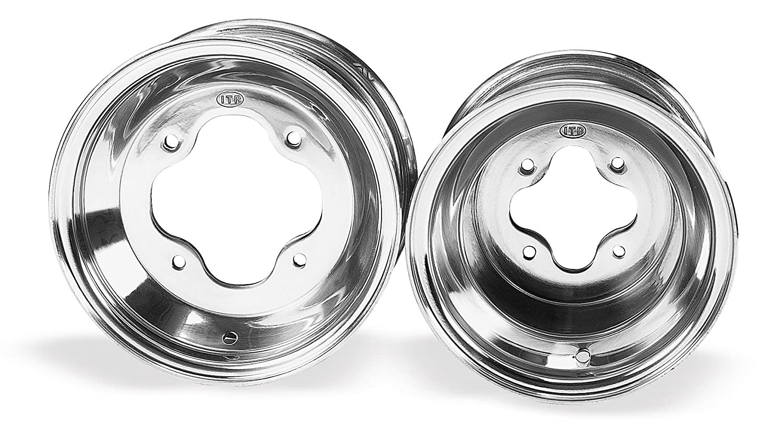 ITP T-9 Pro Series Wheel - 9x8 - 3+5 Offset - 4/110 - Polished , Bolt Pattern: 4/110, Rim Offset: 3+5, Wheel Rim Size: 9x8, Color: Polished, Position: Rear T924110