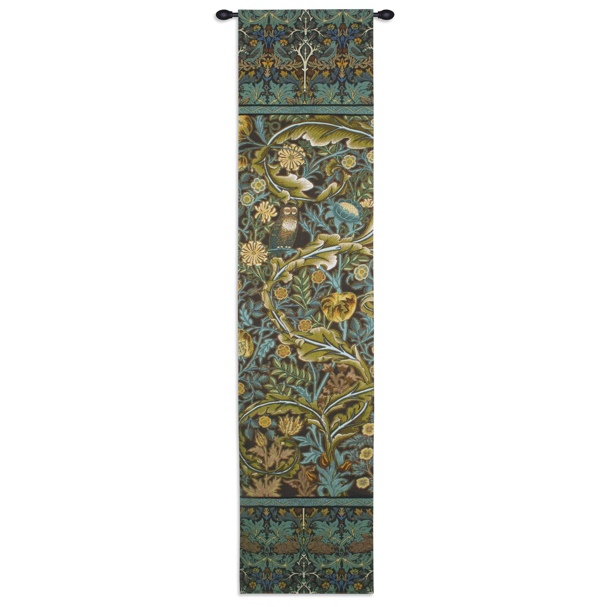 Fine Art Tapestries ''in The Blue Wood 1'' Wall Tapestry