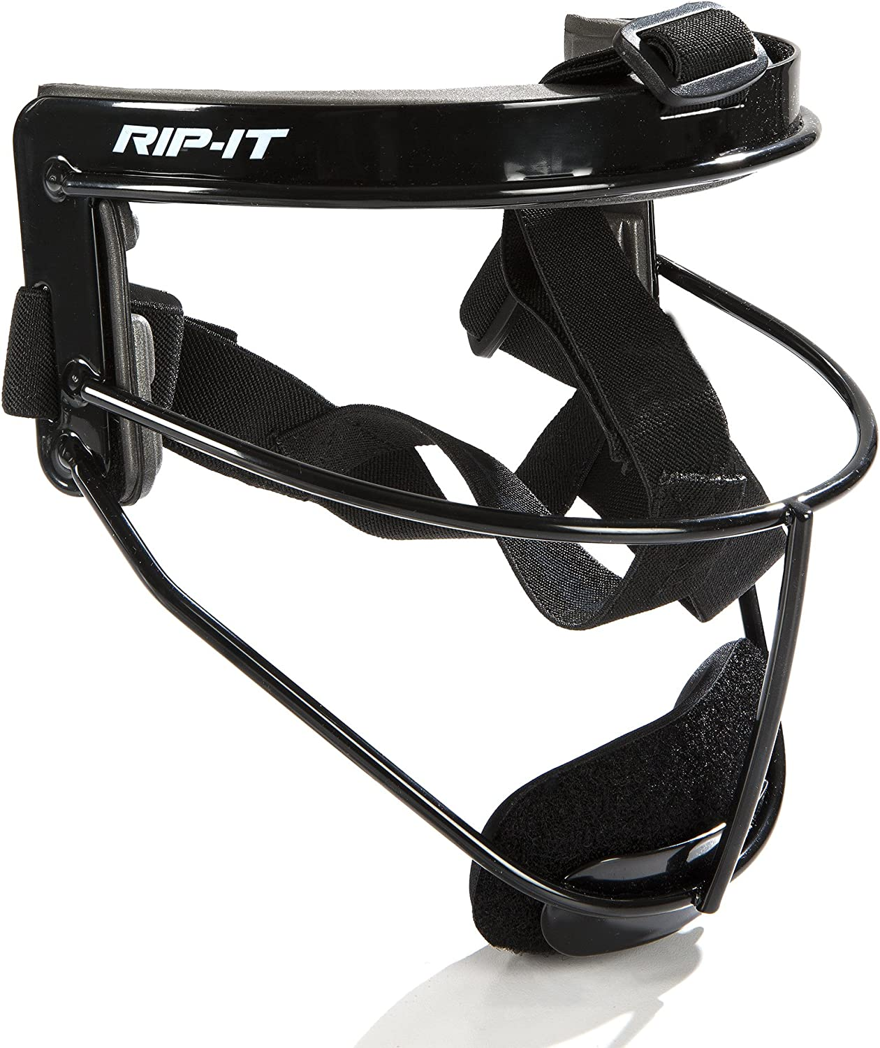 RIP-IT Defense Softball Fielder's Mask – Lightweight Secure Fit Provides Maximum Protection and Comfort – Does Not Obstruct View – Ponytail Friendly : Baseball Catchers Masks : Sports & Outdoors