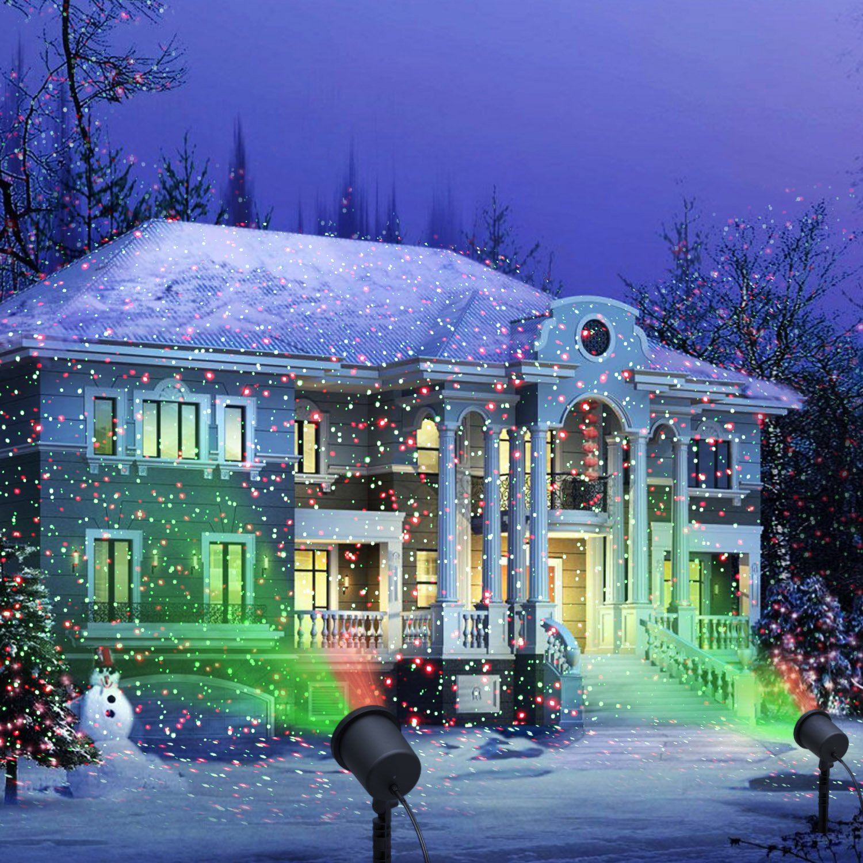 Amazon com   Decolighting Star Laser Christmas Light Show Outdoor  Decorations  Waterproof Landscape Lighting   Patio  Lawn   GardenAmazon com   Decolighting Star Laser Christmas Light Show Outdoor  . Outdoor Lighting For Christmas. Home Design Ideas