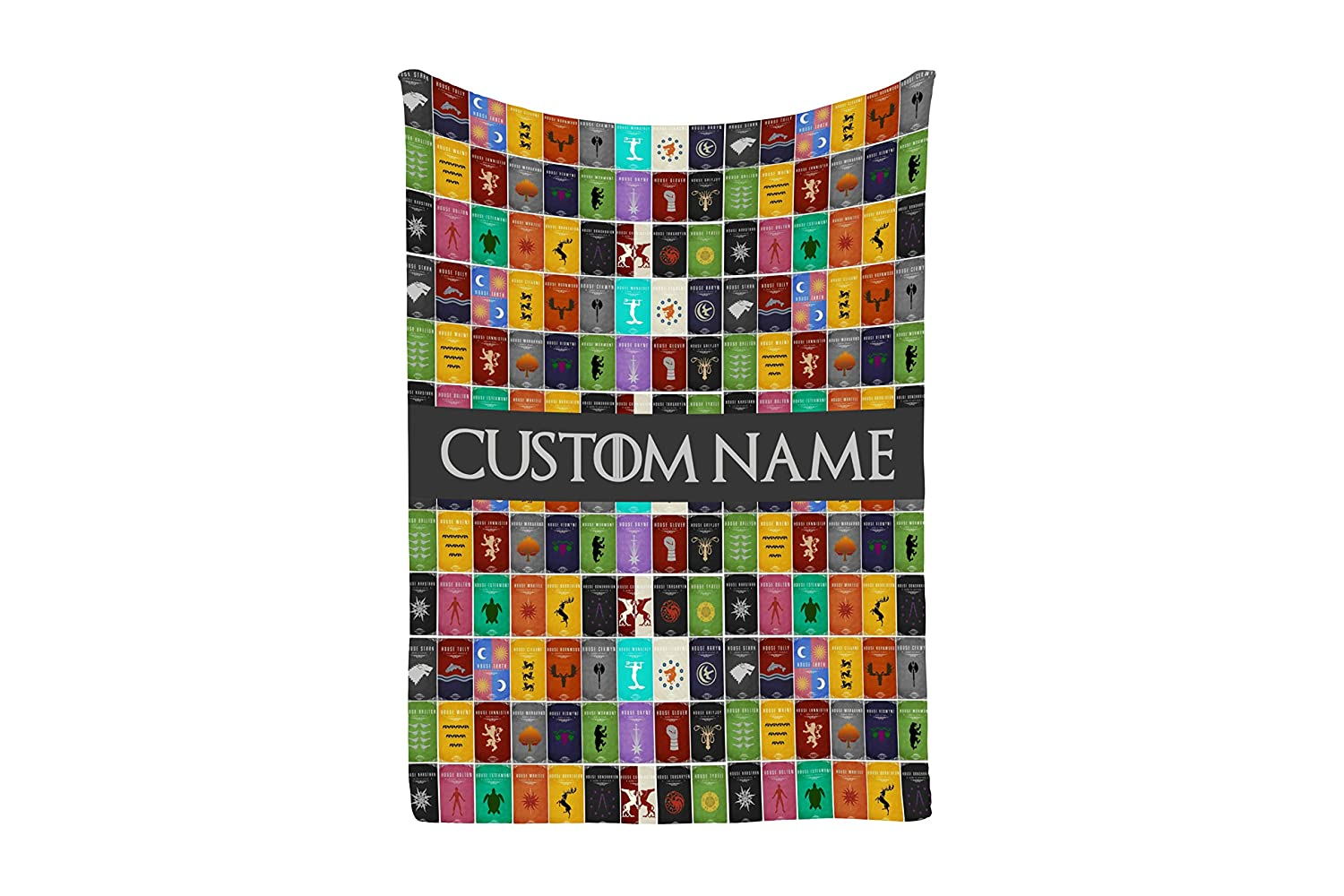 Customizable Game of Thrones Fleece Sherpa and Minky Blankets