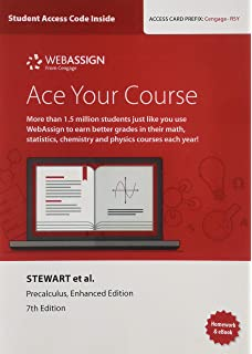 Precalculus enhanced webassign edition with enhanced webassign webassign printed access card for stewartredlinwatsons precalculus enhanced edition 7th fandeluxe Images