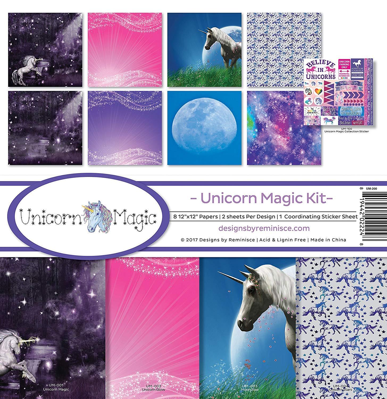 Reminisce Unicorn Magic Scrapbook Collection Kit